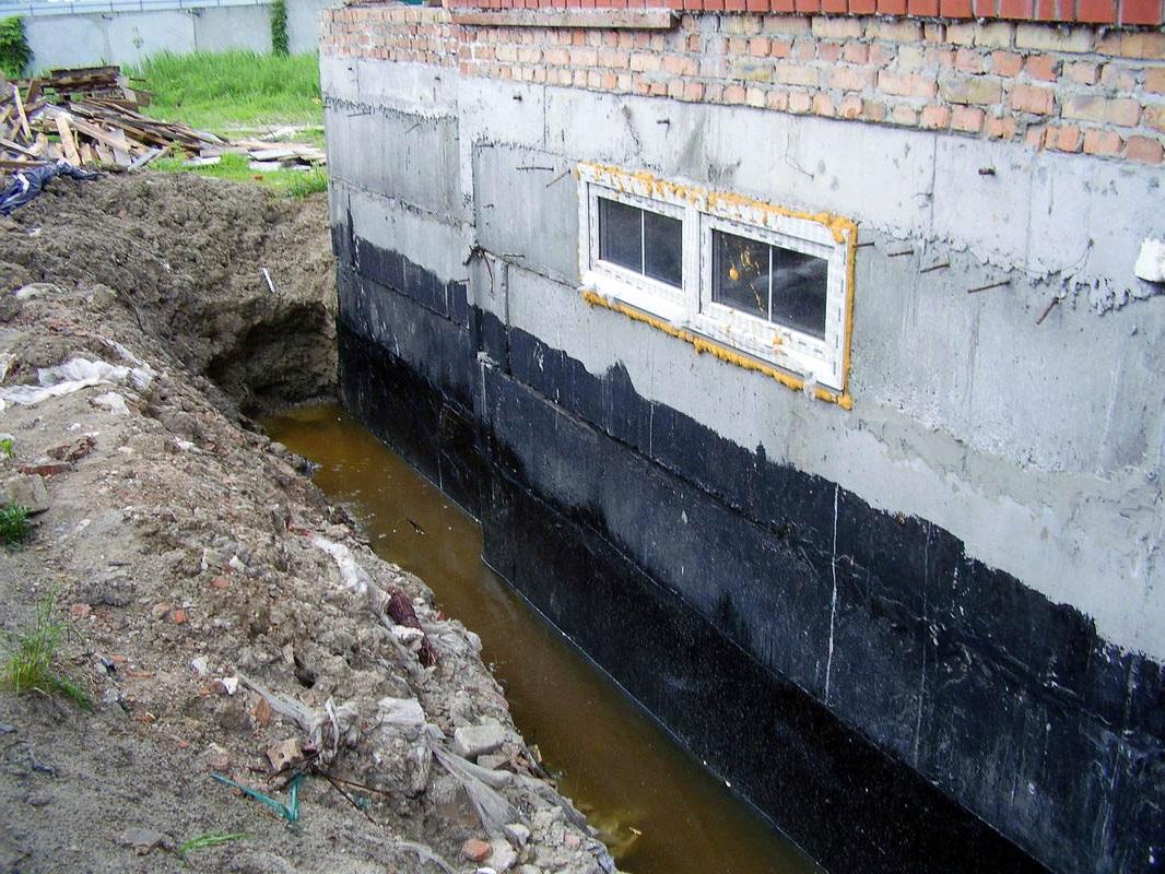 Строительство гидроизоляция и теплоизоляция под фундамент полиуретановый артелит