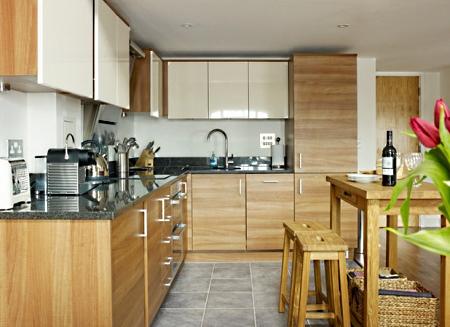 Экономный ремонт кухни