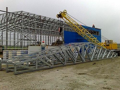 Применение в современном строительстве металлических опор