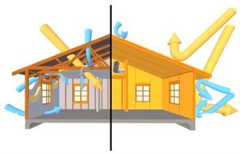 """Методы """"вентилируемых фасадов"""" и утепления """"изнутри"""""""