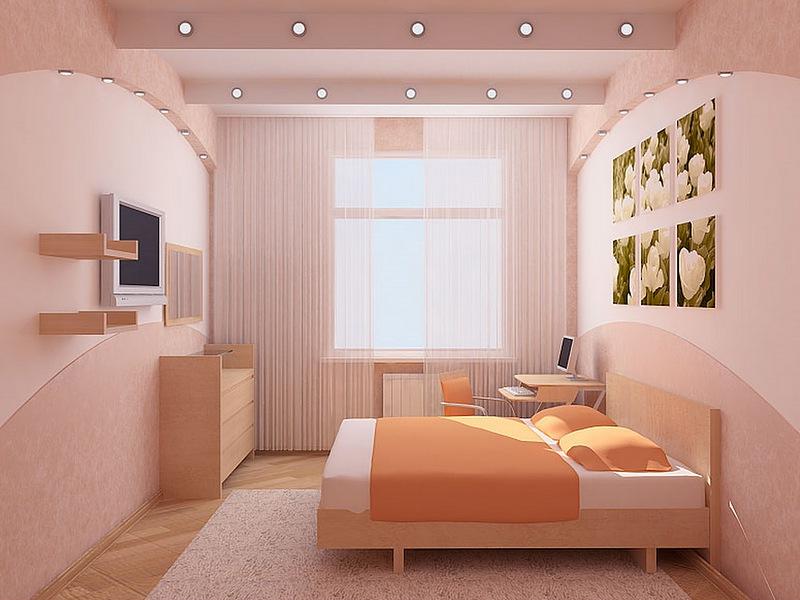 Идеи дизайна интерьера в маленькой комнате