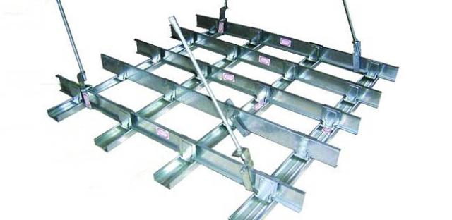 Металлоконструкция подвесного потолка