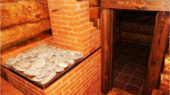 Кирпичная печь каменка