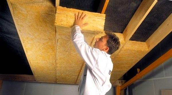 Шумоизоляционные плиты для потолка