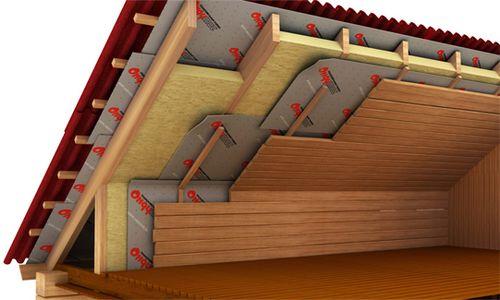 утеплить потолок в бане1