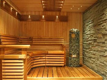 Современная электрокаменка в бане