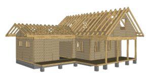 строительства каркасного дома 1