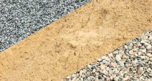 Основные характеристики щебня и песка