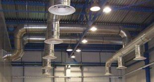 монтажа промышленной вентиляции
