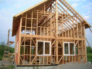 Каркасные дома: преимущества