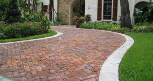 Тротуарная плитка для загородного дома
